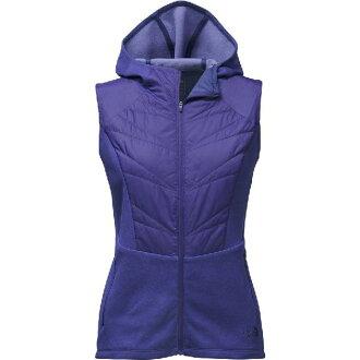 (索取)北臉女士動機形成Psonic最好The North Face Women Motivation Psonic Vest Bright Navy