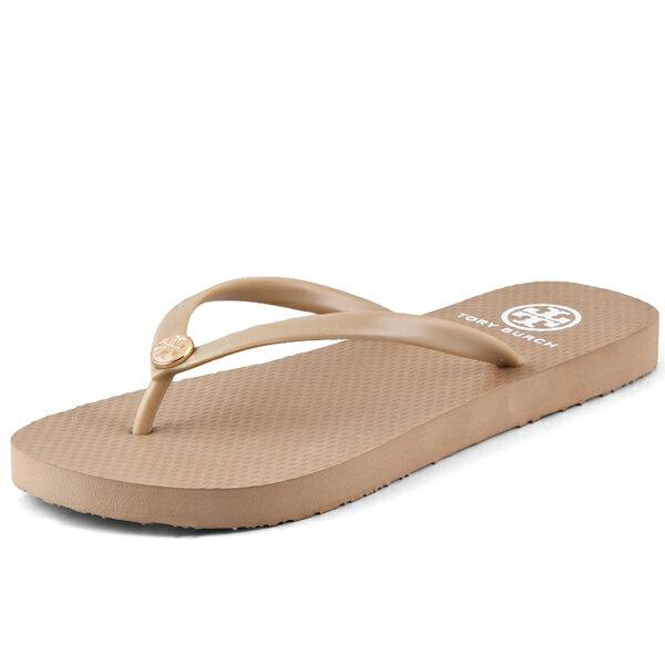 Tory Burch トリーバーチ Thin Flip Flops シン フリップ フロップス Khaki カーキ【大きいサイズ ビーチサンダル 靴 レディースシューズ】