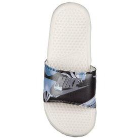 NIKE ナイキ サンダル ベナッシ 柄デザイン スライド Nike Women's Benassi JDI Slide Light Bone Light Carbon 送料無料