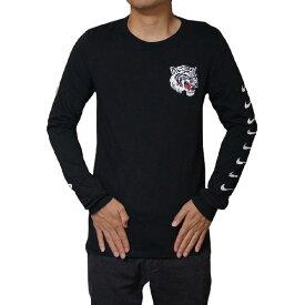 NIKE ナイキ 長袖Tシャツ メンズ ブラック エアマックス プラス チューン ロングスリーブ