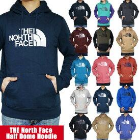 ノースフェイス(NORTH FACE)パーカー メンズ ハーフドーム プルオーバー スウェット 裏起毛パーカー