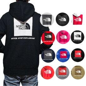 ノースフェイス パーカー メンズ ロゴ バックプリント レッドボックス オーバーサイズ パーカー メンズ The North Face Men's Red Box Hoodie Pullover