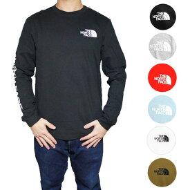 ノースフェイス Tシャツ 長袖 メンズ 長袖Tシャツ ヒット ロングスリーブ Tシャツ ロンT The North Face Men's Sleeve Hit Long-Sleeve T-Shirt