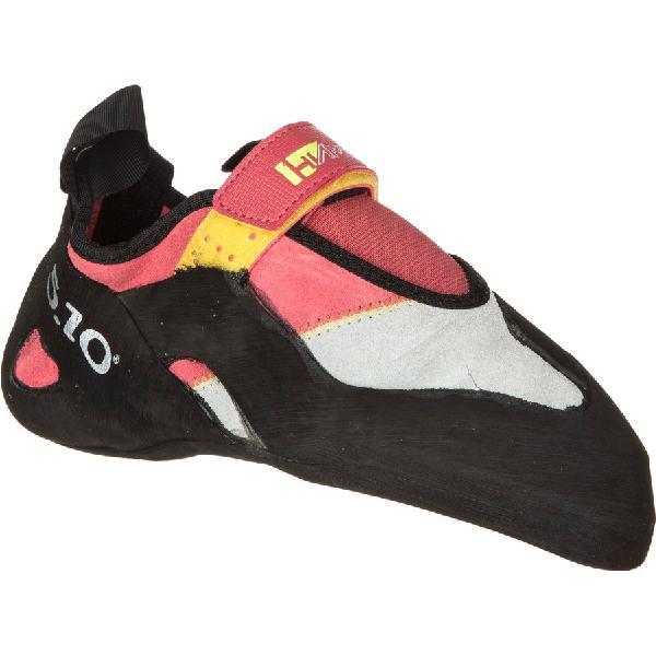 【エントリーでP10倍!3/21 20:00〜3/26 1:59まで】(取寄)ファイブテン レディース ハイアングル クライミング シューズ Five Ten Women Hiangle Climbing Shoe Pink/Yellow 【コンビニ受取対応商品】