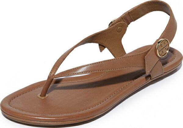 (取寄)Tory Burch Women's Minnie Travel Sandals トリーバーチ レディース ミニー トラベル サンダル Royal Tan