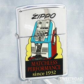 未使用品【ZIPPO LIGHTER/ジッポーライター】MATCHLESS PERFORMANCE/マッチレス・パフォーマンス/since 1932/スロットマシン/1997年製/vz-364