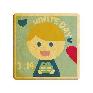 ホワイトデー whiteday プリントクッキー HappyWhiteDay 男の子 お礼 プチギフト ショークッキー