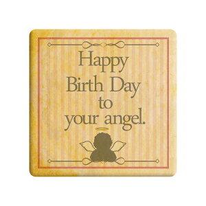 Happy Birth Day to your angel ピンク 誕生日をお祝いするメッセージクッキー 誕生日 プチギフト プリントクッキー ショークッキー