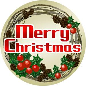 クリスマス スイーツ お菓子 メッセージクッキー Merry Christmas クリスマスリース 個包装 ギフト プレゼント