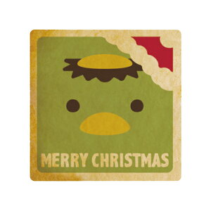 メッセージクッキー 動物たちのクリスマス_かっぱ お祝い・プチギフト