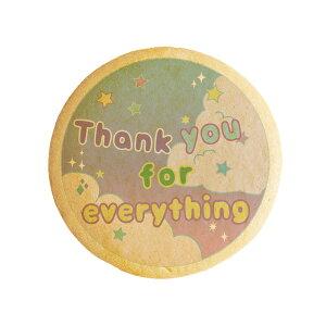 メッセージクッキーThank you for everything お祝い返し・プチギフト・ショークッキー
