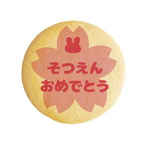 メッセージクッキー そつえんおめでとう_桜ピンク 卒園 お祝い・プチギフト・ショークッキー