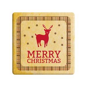 メッセージクッキー メリークリスマス  トナカイ お礼・プチギフト