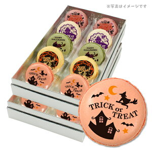 ハロウィン お菓子 メッセージマカロン 色々な魔女が勢ぞろい 人気の5つのフレーバーで美味しい 20個セット 手作り スイーツ ギフト