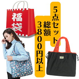 福袋 2021 エコバッグ福袋 レディース メンズ 日用品 超お得 2021福袋 元旦 大人 女性 男性 プレゼント ギフト レジ袋 HAPPY BAG