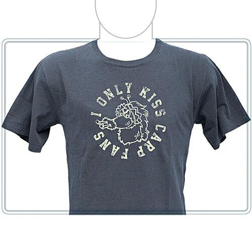 【Carp】【カープ】スライリーピグメントTシャツデニムブルー