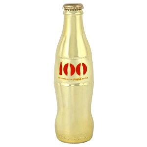 Coke (コカ・コーラ) 100周年記念限定 フルサイズ ボトル GOLD CONTOUR BOTTLE 8050-12