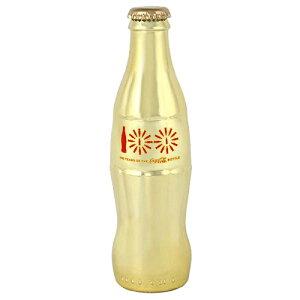 Coke (コカ・コーラ) 100周年記念限定 フルサイズ ボトル GOLD CONTOUR BOTTLE 8050-181