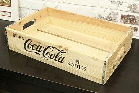 Coke (コカ・コーラ) ウッドクレート ナチュラル PJ-WC03