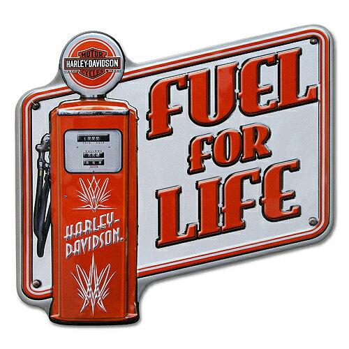 Harley (ハーレー) エンボス ティン サイン H-D Pump It 2010761