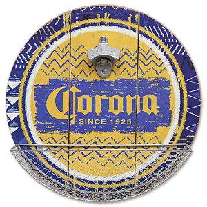 CORONA EXTRA キャップ キャッチャー付き ウッディー ボトル オープナー CA213424