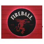 FIREBALLDRAGONMANバックリットLEDプランクサインCA309751