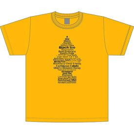 """リトル・ツリー (Little Tree) """" Fragrance Tree """" Tシャツ ゴールド LT-KP-TS-01GO"""