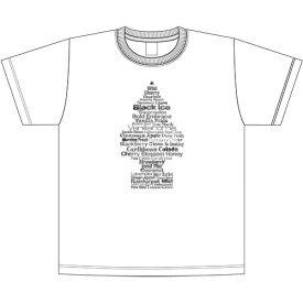 """リトル・ツリー (Little Tree) """" Fragrance Tree """" Tシャツ 後染め ホワイト LT-KP-TS-01WH"""