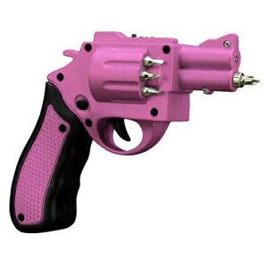 ピストル型 電動 ドライバー GUN POWER SCREWDRIVER ピンク QG-GPS-PK