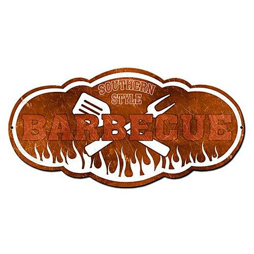 スティール サイン (スチール サイン) Southern Style Barbecue PS-251