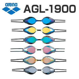 供有AGL-1900 arena体育馆镜子风镜靠垫的游泳风镜游泳风镜游泳游泳比赛使用