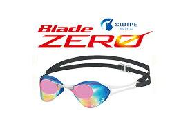 【あす楽対応】【FINA承認】V127SAM Tabata タバタ View Blade Zero ブレードゼロ SWIPE ANTI-FOG ミラーゴーグル ノンクッション スイミングゴーグル スイムゴーグル くもり止め 水泳 競泳用 GBLP