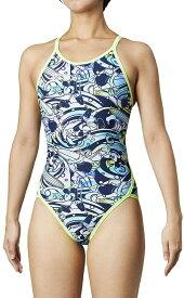 【送料込】DIS-0354W arena アリーナ disney ディズニー ミッキー ToughSuit タフスーツ レディース 女性用 スーパーフライバック タフスキン 練習用水着 練習水着 競泳水着 競泳用水着
