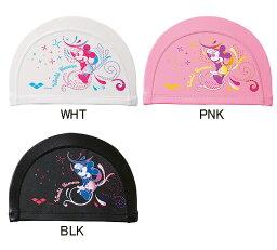衹粉紅!DIS-6312 arena體育館disney迪士尼米奇2WAY矽蓋子遊泳帽遊泳帽健身泳衣灌溉用水遊泳非常便宜的非常便宜的促銷!