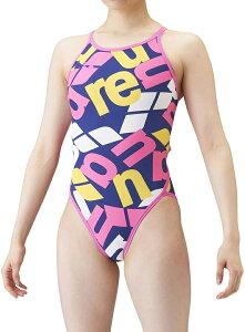 【送料込】ジュニア140・150サイズ!SAR-1115WJ arena アリーナ ToughSuit タフスーツ ジュニア女子 子供用 スーパーフライバック タフスキン 練習用水着 練習水着 競泳水着 競泳用水着