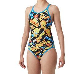 【あす楽対応】SAR-9111W arena アリーナ ToughSuit タフスーツ レディース 女性用 スーパーフライバック タフスキン アリーナ君 練習用水着 練習水着 競泳水着 競泳用水着