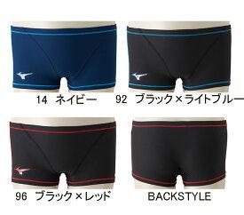 【あす楽対応】N2MB8060 mizuno ミズノ ExerSuits エクサースーツ メンズ 男性用 ショートスパッツ 練習用水着 練習水着 競泳水着 競泳用水着