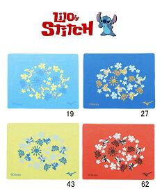【あす楽対応】N2JY7585 mizuno ミズノ Lilo&Stitch スティッチ セームタオル スイムタオル スイミングタオル 水泳 競泳
