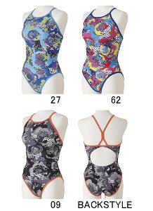 【送料込】ジュニア120〜140サイズ!N2MA0472 mizuno ミズノ ジュニア女子 子供用 ミディアムカット 練習用水着 練習水着 競泳水着 競泳用水着