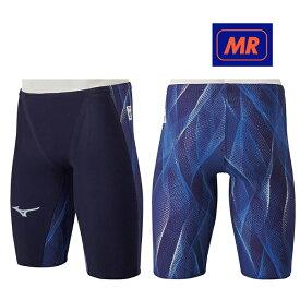 【送料込】【FINA承認】N2MB0002 mizuno ミズノ GX-SONIC5-MR メンズ 男性用 ハーフスパッツ 競泳水着 高速水着 競泳用水着