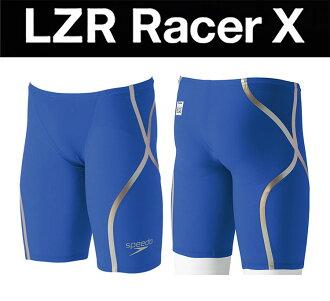 衹SS尺寸!到達供SD75C51 speedo速度LZR-Racer X鐳射速度比賽者X人男性使用的hafusupattsu遊泳比賽泳衣遊泳比賽灌溉用水高速泳衣