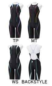 【あす楽対応】【FINA承認】ジュニア120〜150サイズ!SCG11907F speedo スピード FLEX Cube フレックスキューブ ジュニア女子 子供用 ハーフスパッツ ハーフスーツ 競泳水着 競泳用水着