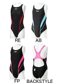 【あす楽対応】【FINA承認】ジュニア120〜150サイズ!SD36B07 speedo スピード FLEX Zero ジュニア女子 子供用 エイムカットスーツ 競泳水着 競泳用水着