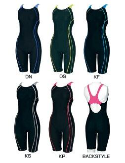 只L尺寸!供SD52N01 speedo速度STREAMΣ女士女性使用的健身游泳衣supattsusutsuoruinwan游泳衣非常便宜的非常便宜的促销!tk