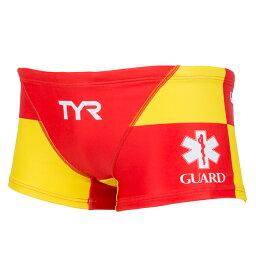 【あす楽対応】BGARD-18M TYR ティア SURFPATROL LIFE GUARD ライフガード メンズ 男性用 ボクサーパンツ ショートボクサー オープンウォーター 練習用水着 練習水着 競泳水着 競泳用水着 RDYL