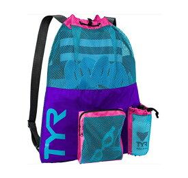 【あす楽対応】LBMMB3 TYR ティア メッシュバッグ リュック スイミングバッグ スイムバッグ 水泳 PUBL