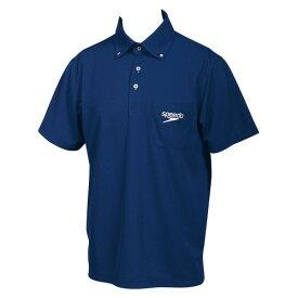 【あす楽対応】Sサイズのみ!SD14S01 speedo スピード メンズ 半袖 ポロシャツ 水泳 競泳 激安・格安セール!N
