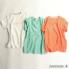 半袖Tシャツ ダンスキン DANSKIN レディース DB79120 So Cool クルー Tシャツ 2003 トップス 半袖 スポーツウェア ワークアウトTシャツ UVカット ロゴTシャツ ゆうパケット対応