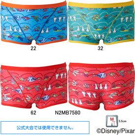 【45%OFF】ミズノ(MIZUNO)男性用 トレーニング水着 ファインディングニモ(Finding Nemo)エクサスーツメンズショートスパッツN2MB7580
