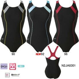 【45%OFF】ミズノ(MIZUNO)女性用 フィットネス水着 プライムストローク ウイメンズワンピース(ピースバック)N2JA8301